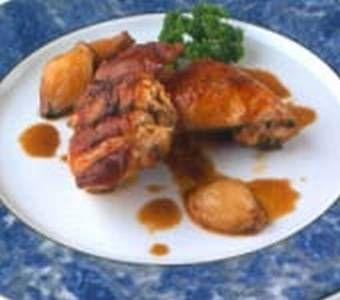 Receta Conejo con chalotas confitadas al microondas, nuestra receta Conejo con chalotas confitadas al microondas - Recetas enfemenino