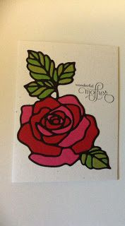 *LaLaLa ymcg crafting*: Mother's Day card Rose Garden Thinlits Dies