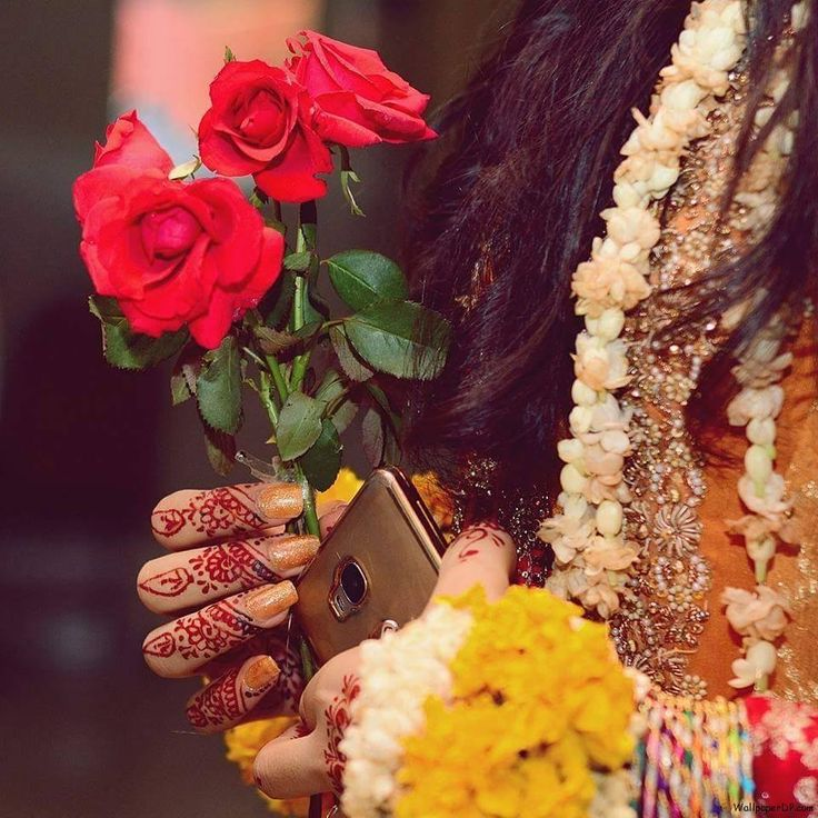 Image For Beautiful Flowers Stylish Girls For Fb Dp