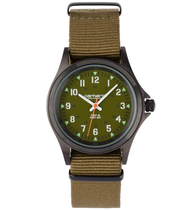 Carhartt Green Military Watch