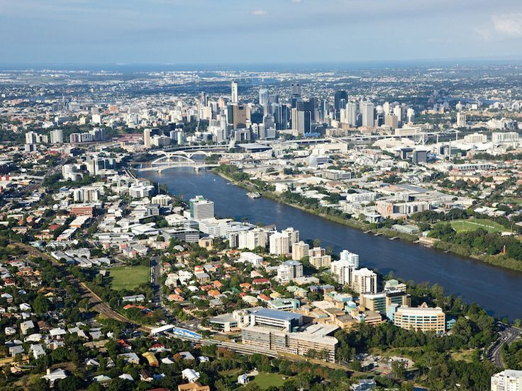 Riverside Hotel Brisbane Aerial Photo
