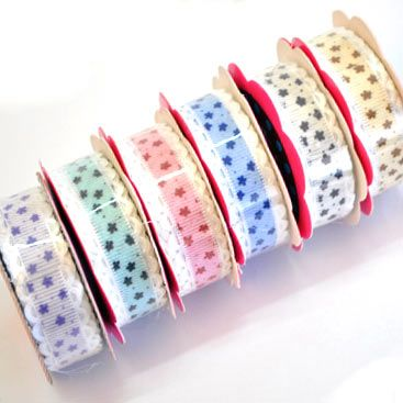 Its always nice to have some pretty ribbons in the house, this 6 pack is available for R45 from Paradise Creative Crafts.  Come visit our online shop - We have over a 1000 products in store.