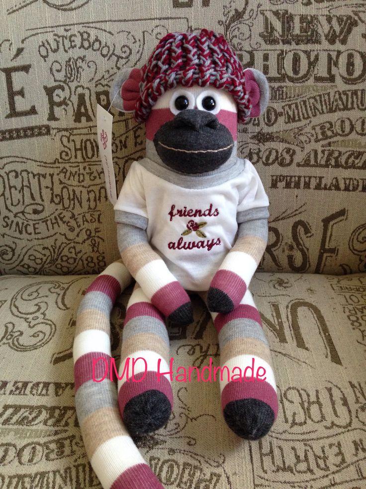 Sock Monkey, Handmade by me