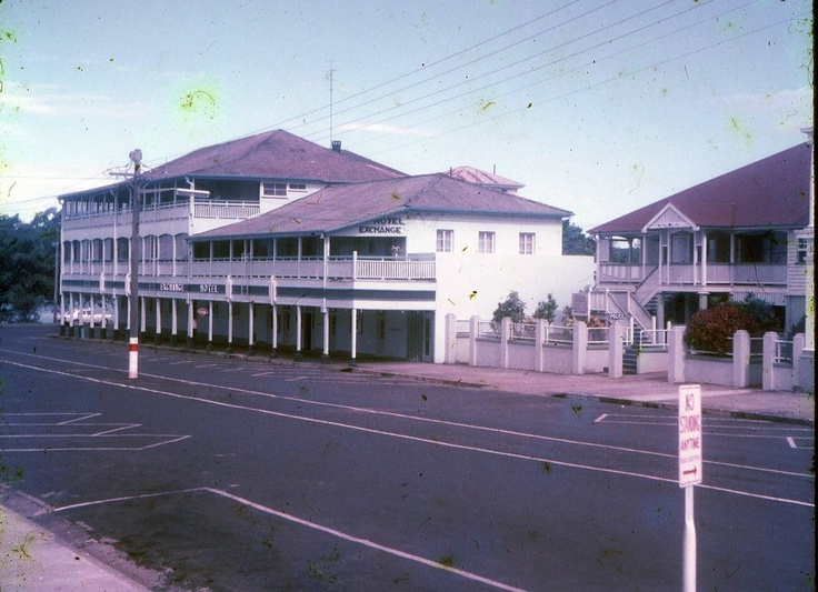 1972 Exchange Hotel and Police Station, Innisfail.