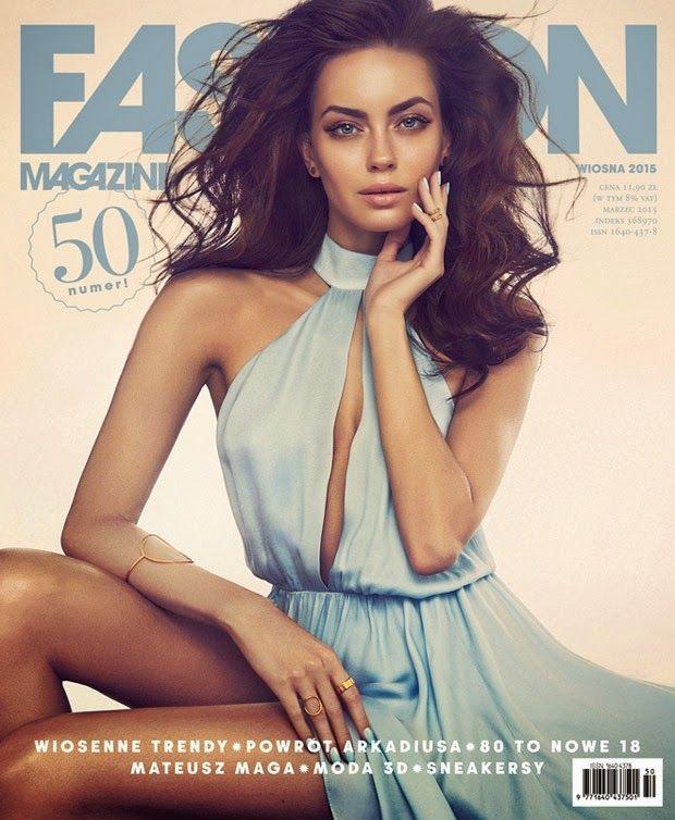 Model @ Edyta Zajac by Maciej Bernas for Fashion Magazine