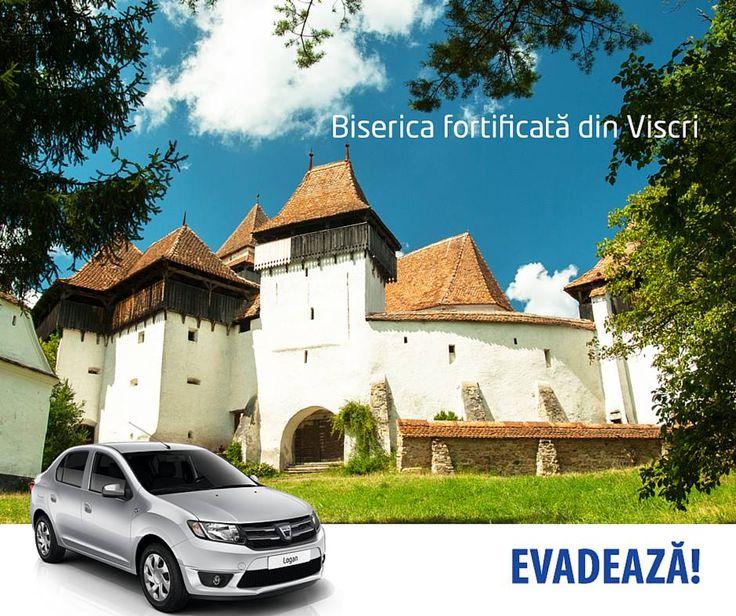 Cine a văzut Biserica fortificată de la Viscri? Dacă treceți prin Brasov, nu uitați să vă opriți să o vizitați!