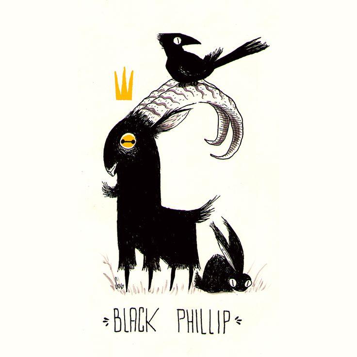 Black Phillip on Behance