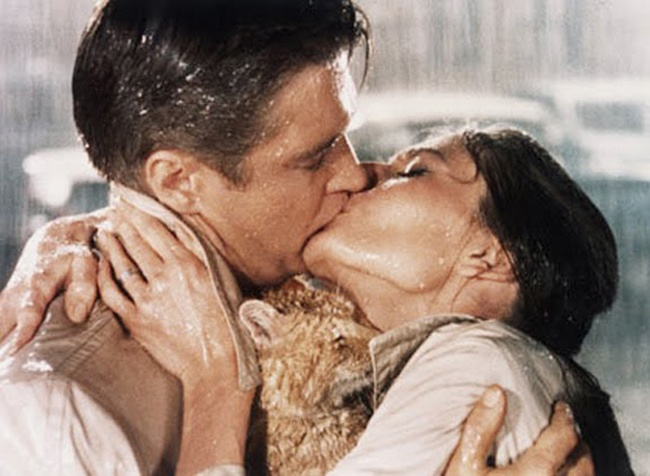 George Peppard+Audrey Hepbur, Breakfast at Tiffany's 1961