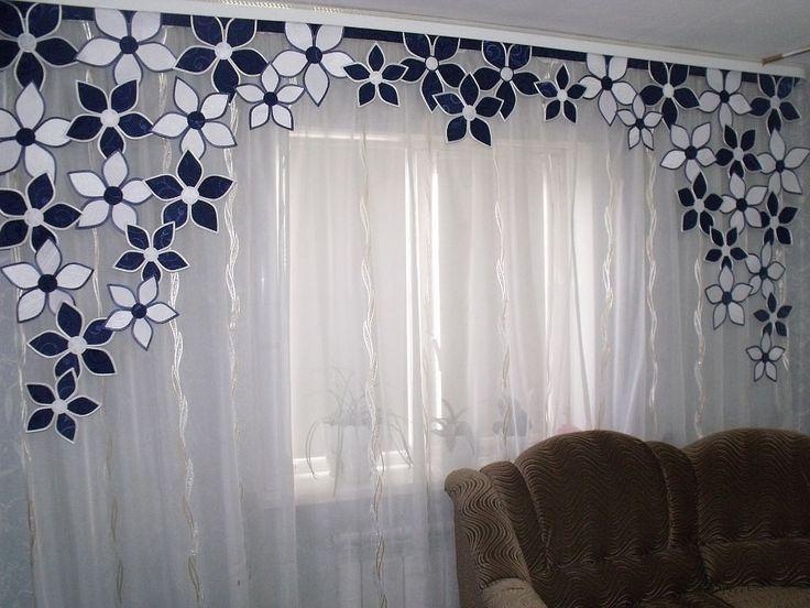 M s de 25 ideas incre bles sobre cenefas para cortinas en for Cortinas transparentes salon