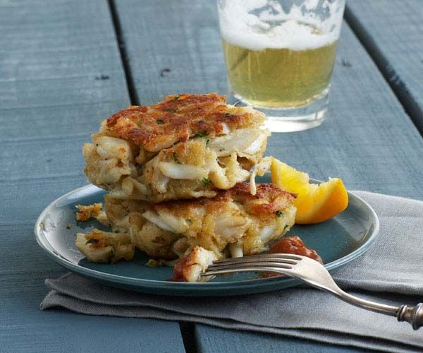 Chesapeake crabcakes. Can't have enough crabcake recipes.  i could put these on so many boards!  products i love....growing up....my style :)