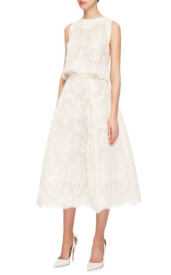 Monique Lhuillier Bridal Look 7 on Moda Operandi