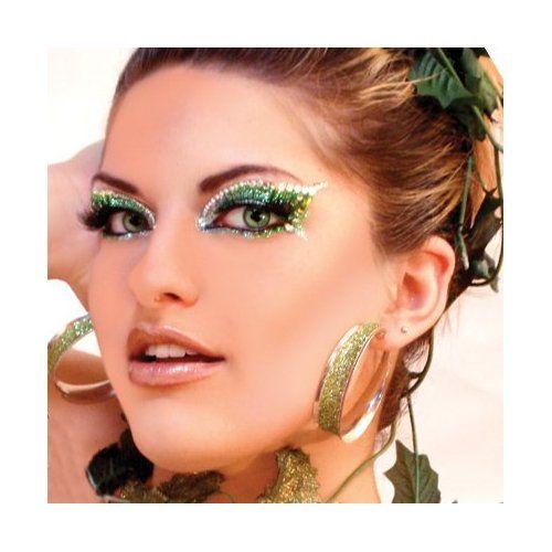 Eyes Green Glitter Professional Make Up Dancer Costume St Patricks Day