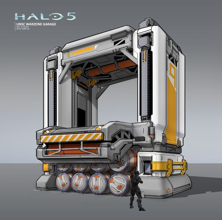 The Art, Spaceships And Spartans Of Halo 5