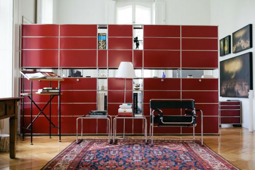 usm haller red boemo color palette red stories. Black Bedroom Furniture Sets. Home Design Ideas