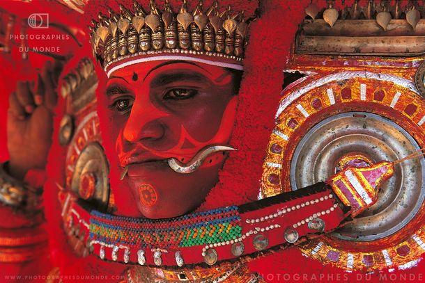 Voyage photo Inde du sud : les festivités du Teyyam