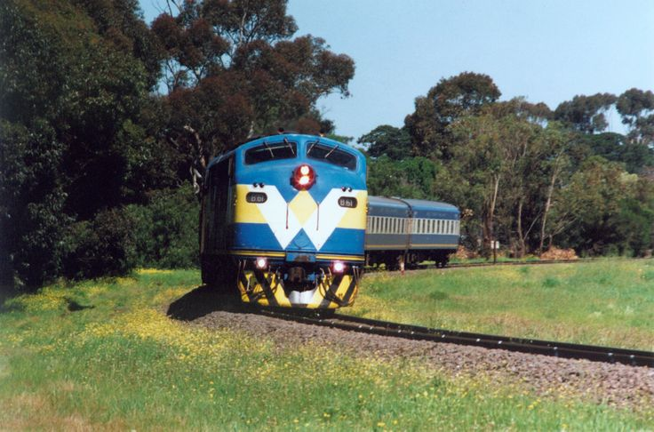The former West coast Rail run Warrnambool - Melbourne passenger service at South Geelong