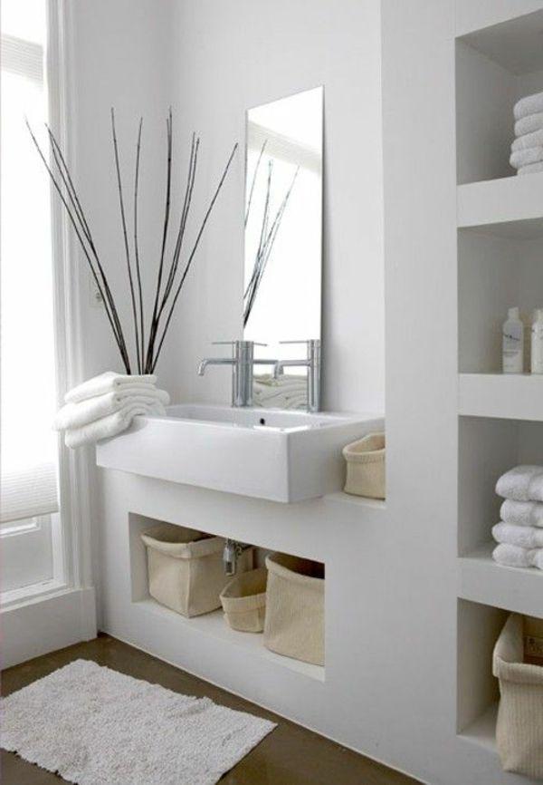 Idée décoration Salle de bain \u2013 idées pour la déco salle de bain zen