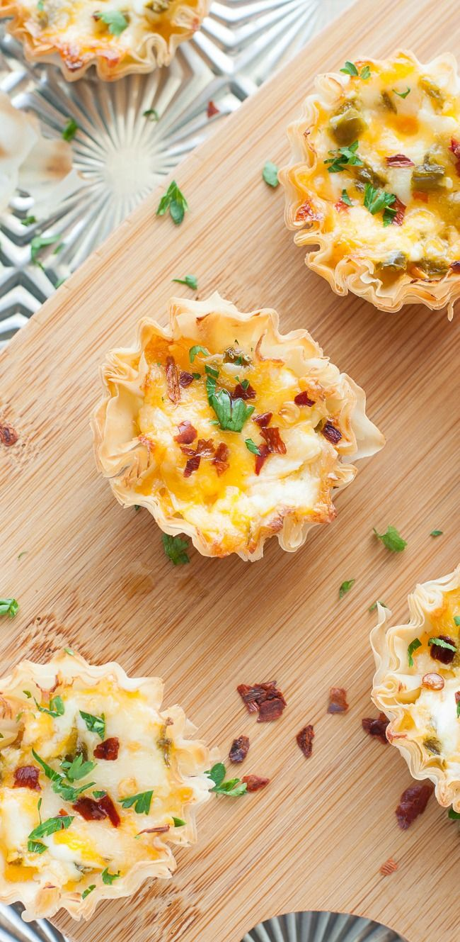 Easy to make & even easier to eat, these baked jalapeno popper phyllo cups are the ultimate appetizer! Everyone loves this jazzed up crowd-pleasing recipe!