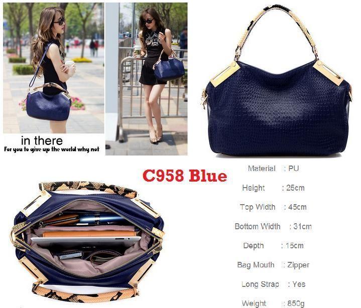 supplier tangan pertama C958 Blue
