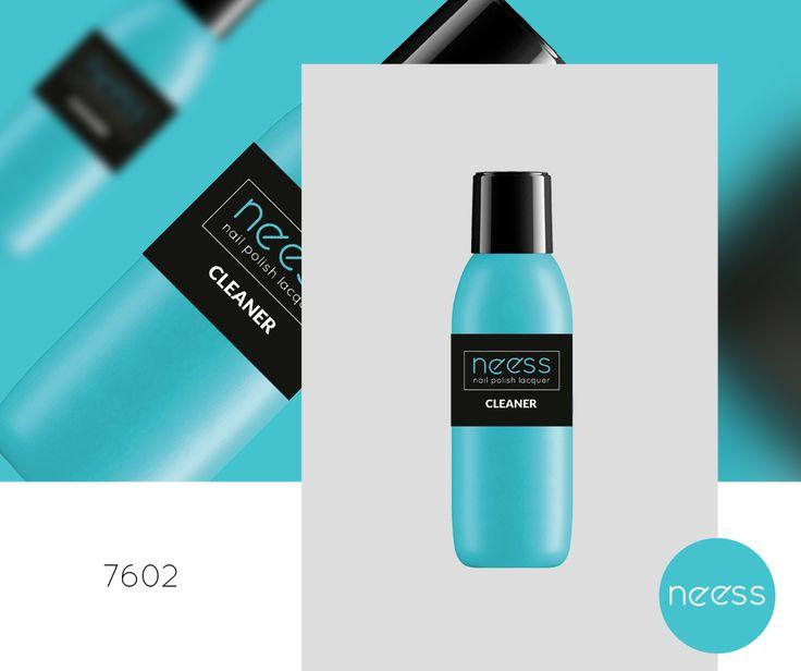 Płyn do przemywania warstwy dyspersyjnej Cleaner NEESS o przyjemnym wiśniowym zapachu. Pojemność 100ml.