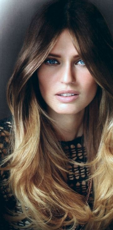 .I will never be Over ombré !  Love this, easy up keep while still rocking the blonde. Yes please!