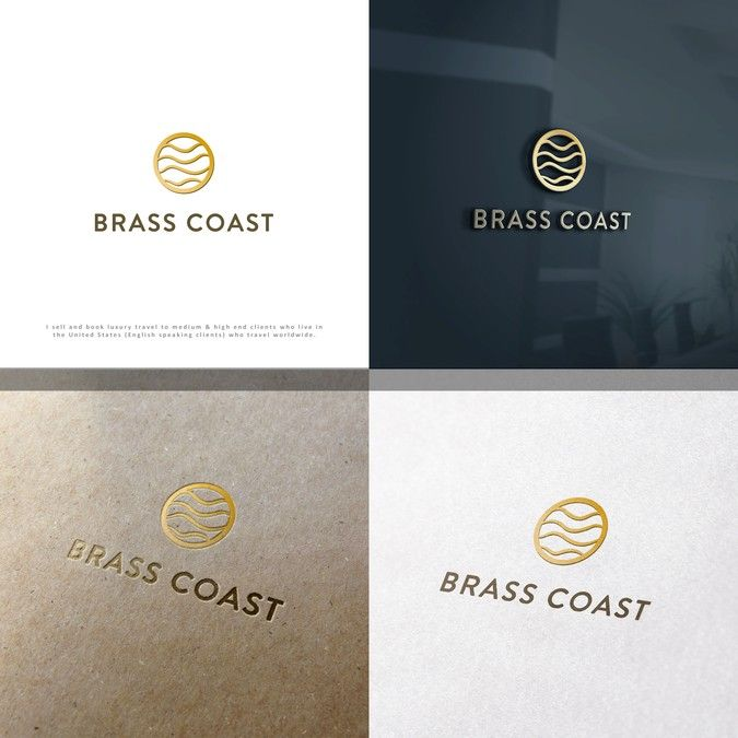 New Logo for Brass Coast art company by Graphyte