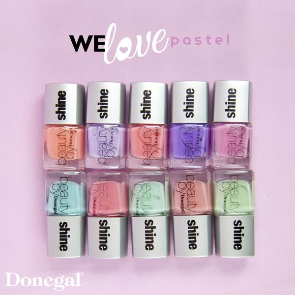 Lakiery Beauty Shine by Donegal. nail#nailart