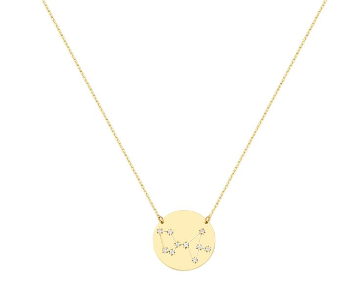 Sagittarius necklace in 9K
