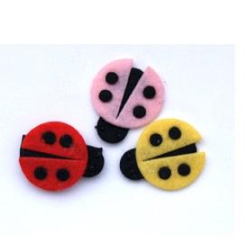 Ladybug hair clips!