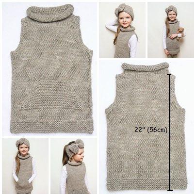 Juego juego de la mano de punto túnica de mangas y diadema de arco grande. Tamaño de la venda: 19-21(49-52cm) Tamaño de túnicas: -REINO UNIDO 8-9 -Europea 128-134cm -ESTADOS UNIDOS 9 * en la foto en 134 centímetros (53 pulgadas) altura año 8 gir Color: Marrón claro (café con hielo) Materiales: Alpaca merino mezcla lanas Este conjunto está listo a nave! --------------------------------------- El Color puede variar ligeramente de la imagen que se ve en la pantalla. No dude en preguntar si ...