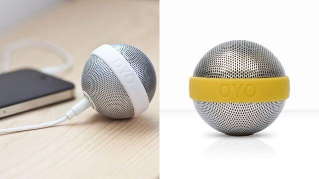 マイクに見えますよね、完全に。OYOからリリースされたポケットサイズの球体スピーカー「BALLO」。3.5mmミニジャック対応、充電バッテリ...
