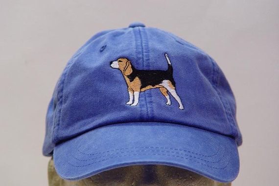 BEAGLE DOG HAT  One Embroidered Men Women Cap  by priceapparel