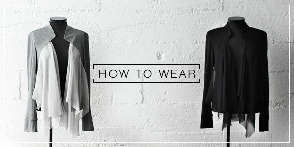 How to wear the Emersion Jacket | Taylor #TaylorBoutique #TaylorStyle #NZ #HighFashion #SS14 #NewCollection #NewZealand #Fashion