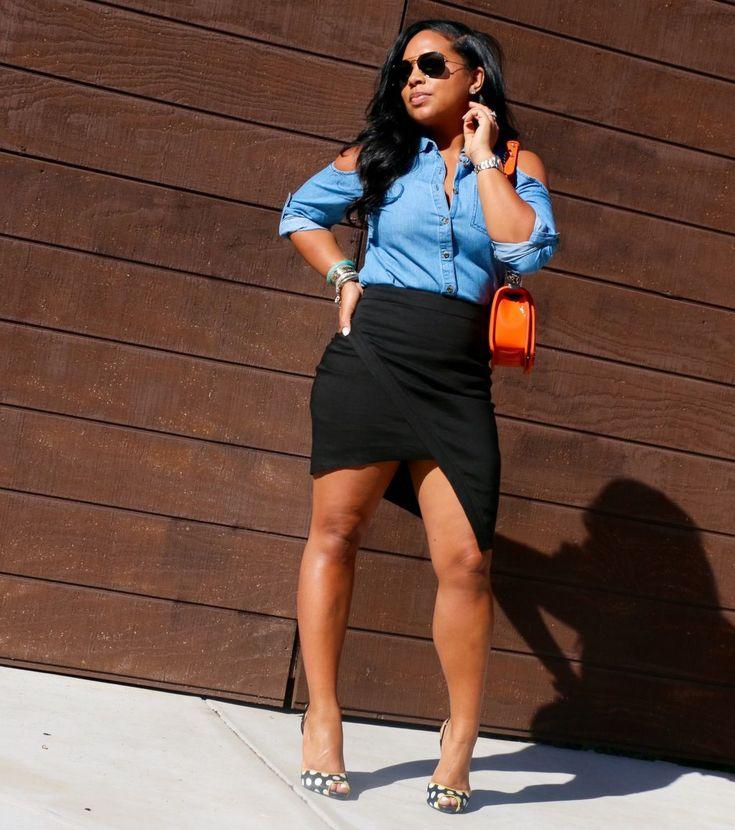 Denim Shirt + Linen Skirt | Major Must Haves