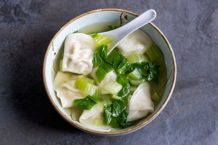 """Wonton"" translates to ""swallowing clouds"", which gives an idea of how comforting they are. This wonton soup recipe is about as satisfying as it gets."