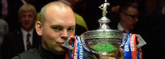 """Stuart Bingham  Stuart Bingham says he was spurred on by the claim he had """"no bottle"""" from a fellow player after winning the World Championship at the Crucible. Bingham, 38, became the oldest world champion since 1978 after beating Shaun Murphy 18-15 in Sheffield."""