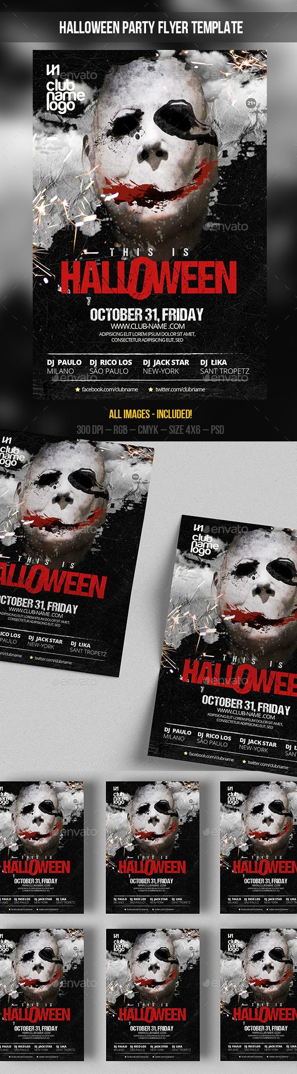 25 best ideas about Halloween Party Flyer – Zombie Flyer Template
