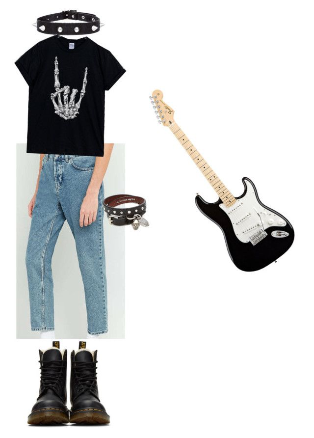 Teddy Drama Class by poojah0009 on Polyvore featuring polyvore Loom Dr. Martens Alexander McQueen fashion style clothing