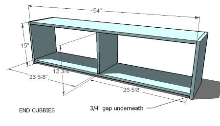 Storage Plans for Mudroom