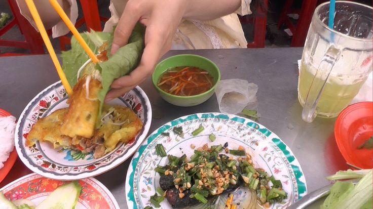 Street Food - Banh Xeo Vietnamese Pancake