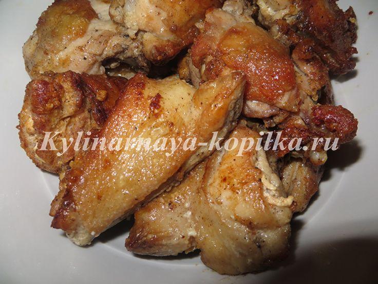 Куриные бедра на сковороде рецепт с фото