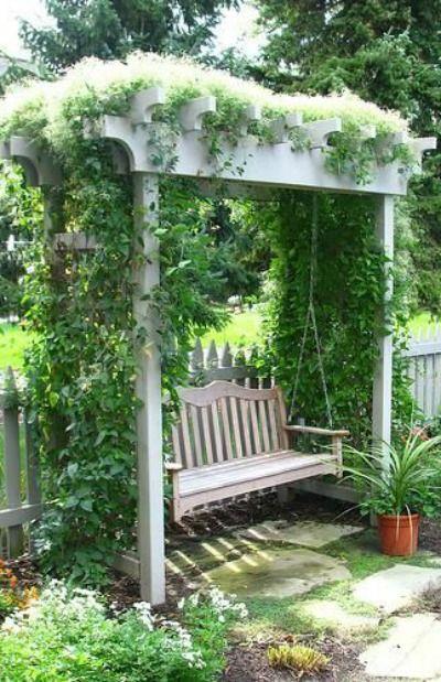 16 Stunning Garden Seating Ideas