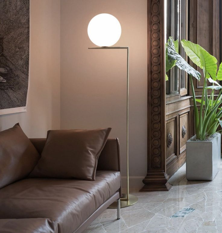 the ic lights f floor lamp was designed by michael anastassiades in 2014 and is