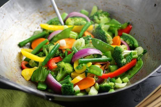 Vegetable Stir fry Sauce - an easy stir-fry sauce for stir-frying vegetables. Vegetable stir-fry sauce.