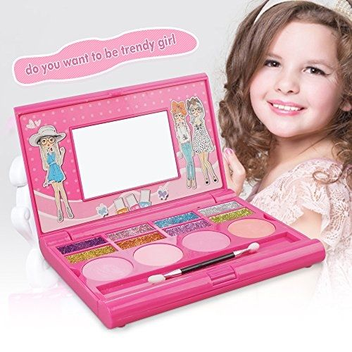 Kids Makeup Kit ,8 Color Glitter Little Girls Make Up Sets With Mirror Face Painting Palette BUY NOW     $19.99     Why Choose Meme Play Makeup Kit  ?   • 100% SAFE :FDA Approved ,cosmetic grade pigment   • NON TOXIC :Vegan & Paraben-free  ..  http://www.beautyandluxuryforu.top/2017/04/04/kids-makeup-kit-8-color-glitter-little-girls-make-up-sets-with-mirror-face-painting-palette/
