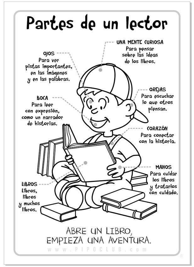 JUEGOS EDUCATIVOS PIPO: PARTES DE UN LECTOR                                                                                                                                                                                 Más