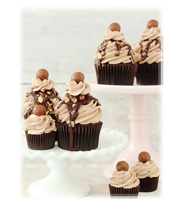 Mocha Chocolate Cupcake