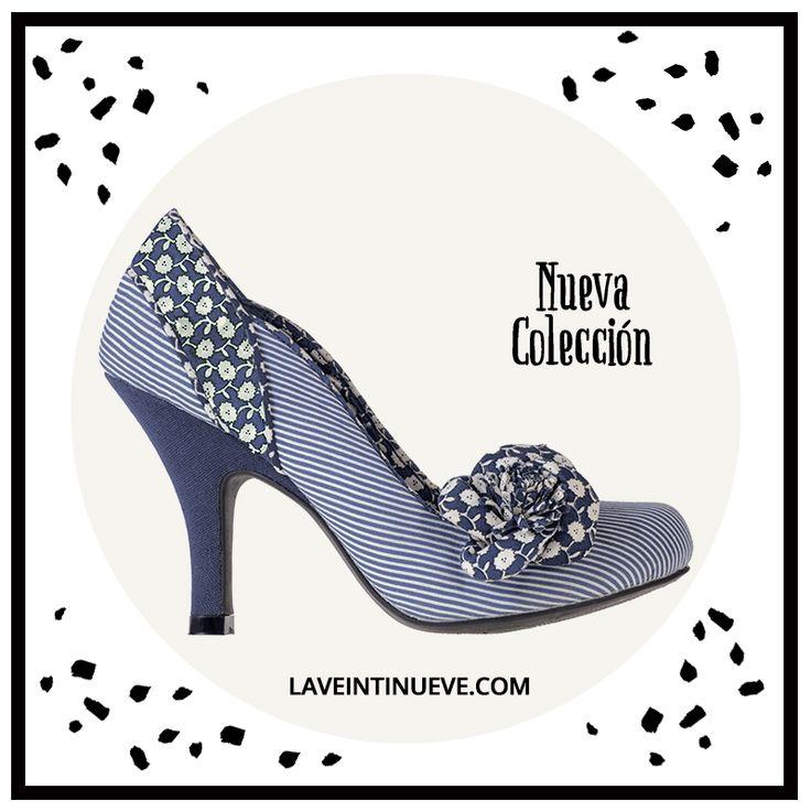 Lovely blue Pumps #retro #heels #spain #laveintinueve #boutique #gotico