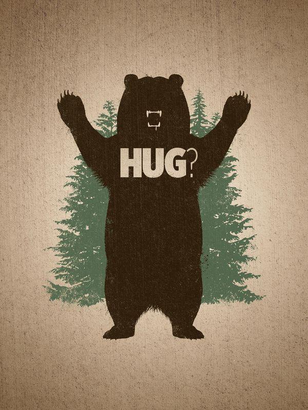 I need a bear HUG!!Funny Things, Bears Hug, Stuff, Illustration, Art Prints, Graphics Design, Products Available, Buy Bears, Bear Hugs