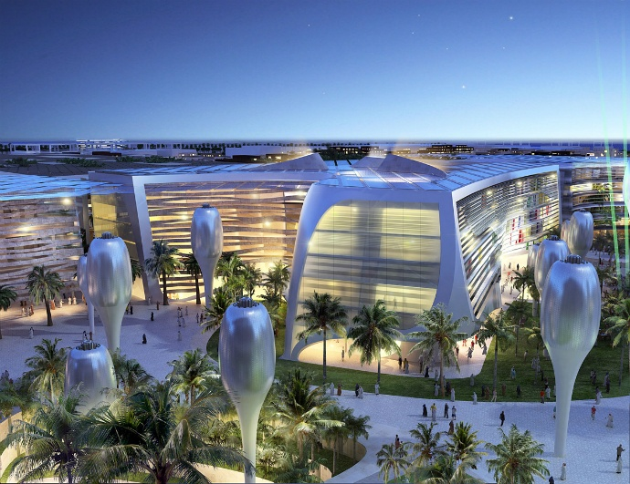 The project of Masdar, the first eco-city, UAE